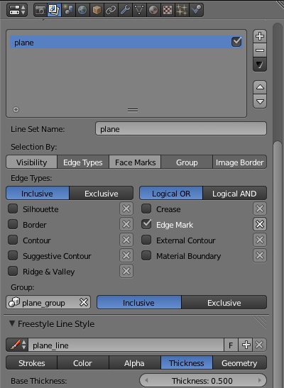 Принципиальные схемы в Blender. FreeStyle - 25