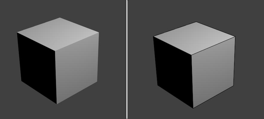 Принципиальные схемы в Blender. FreeStyle - 5