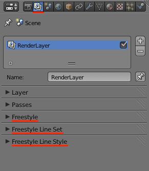 Принципиальные схемы в Blender. FreeStyle - 7