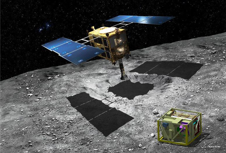 Японский космический зонд Hayabusa-2 отправился к астероиду 1999 JU3 - 3