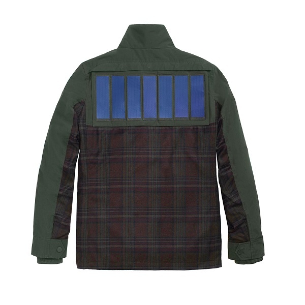 Tommy Hilfiger предлагает куртки с отстегивающимися солнечными батареями - 2