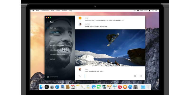 Wire: мессенджер от разработчиков из Skype, Microsoft и Apple - 1