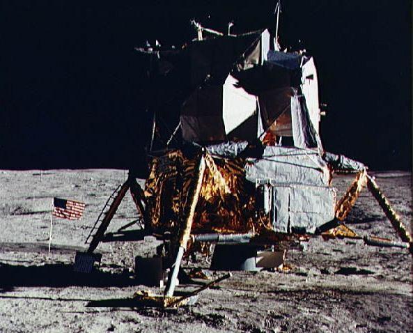 Маленький эпизод покорения Луны - 2