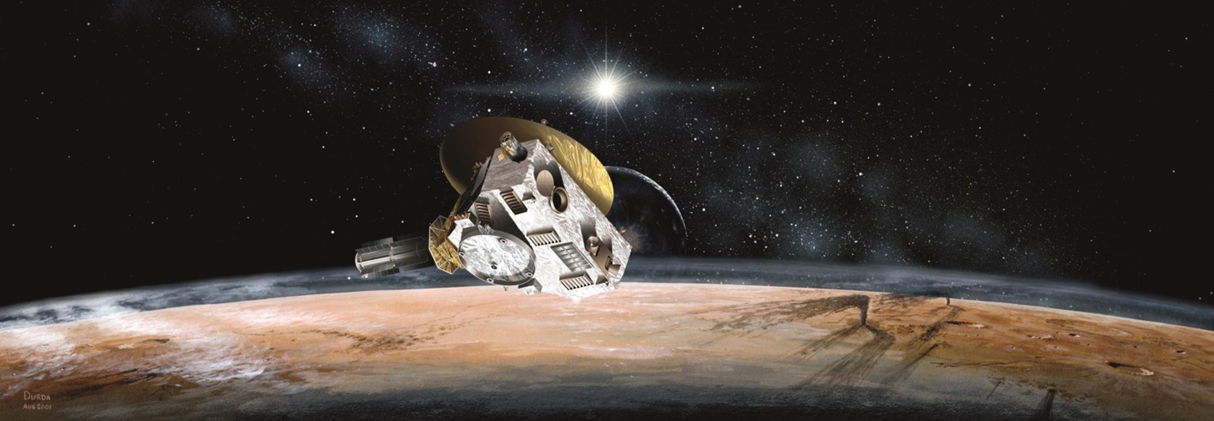 Завтра проснется автоматическая межпланетная станция New Horizons - 1