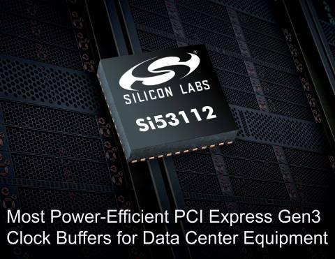 Применив буфер Si53119, можно снизить потребляемую мощность на 1 Вт и сократить число внешних компонентов на 39 штук