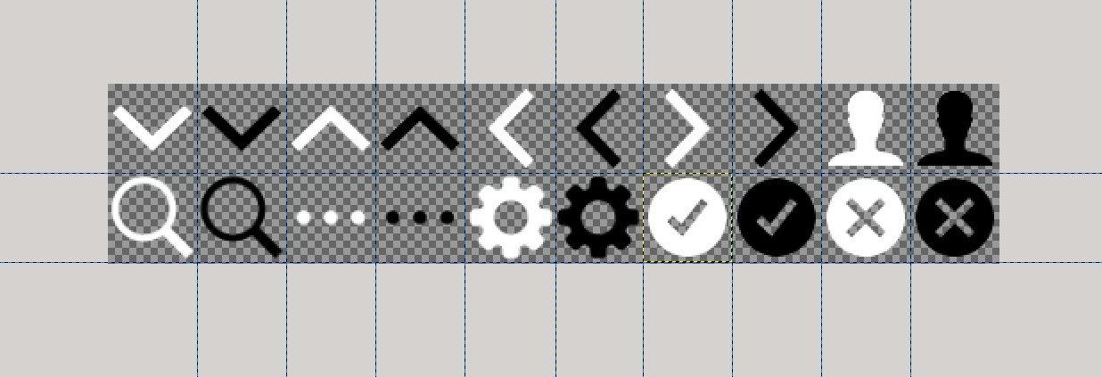 Долой абсолютные единицы в иконках-спрайтах - 1