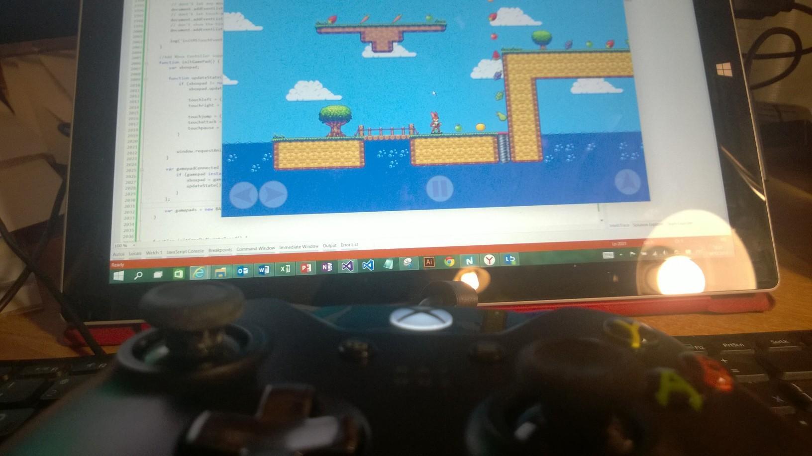 Как использовать GamePad в браузере и в приложениях для Windows на HTML и JavaScript? - 9