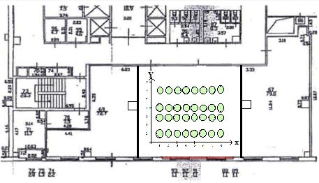 Навигация в помещениях с iBeacon и ИНС - 7