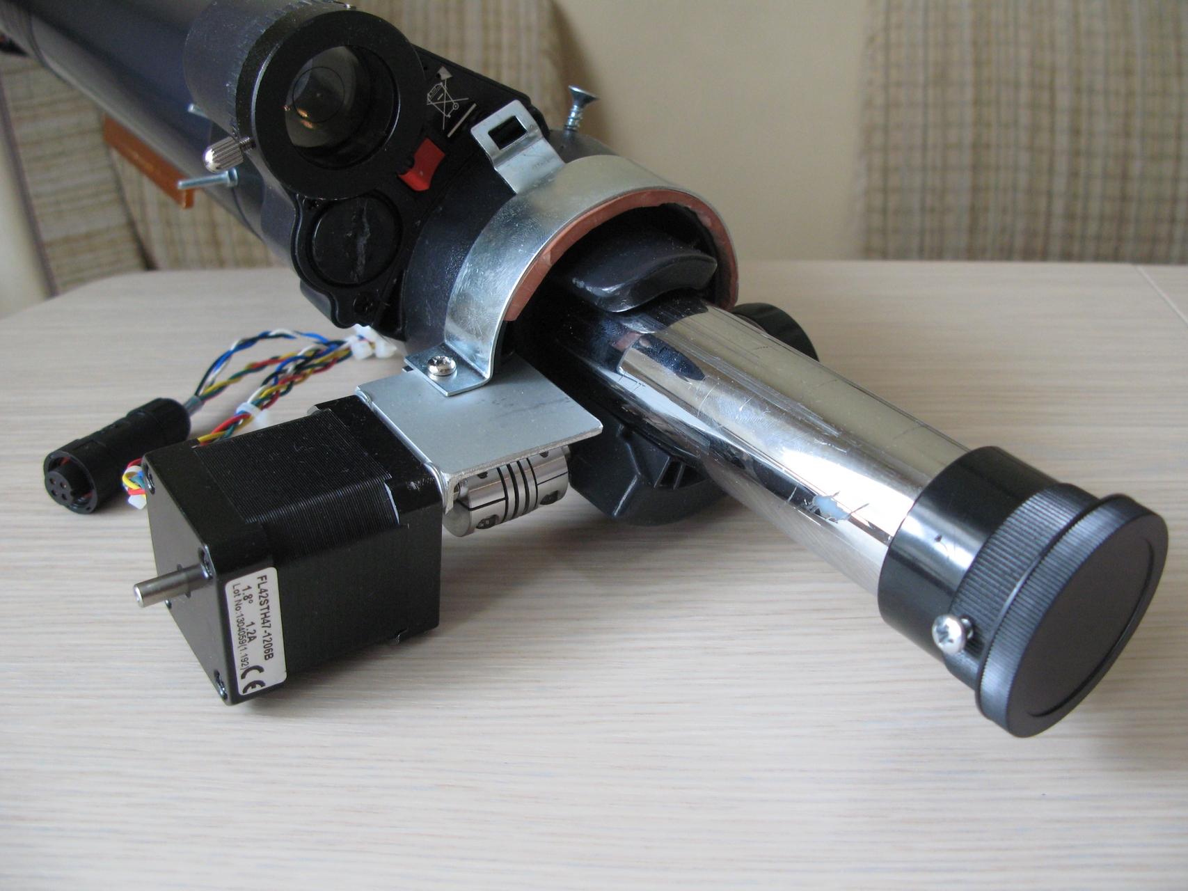 Разработка Электрофокусера на базе отладочной платы Arduino Uno, часть 1 - 1