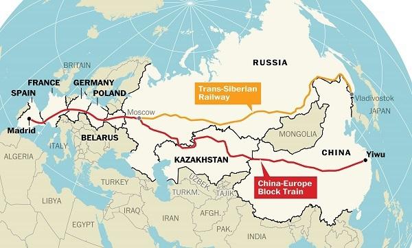 Длинный путь из Китая в Испанию: Евразия восстанавливает древние торговые пути - 1