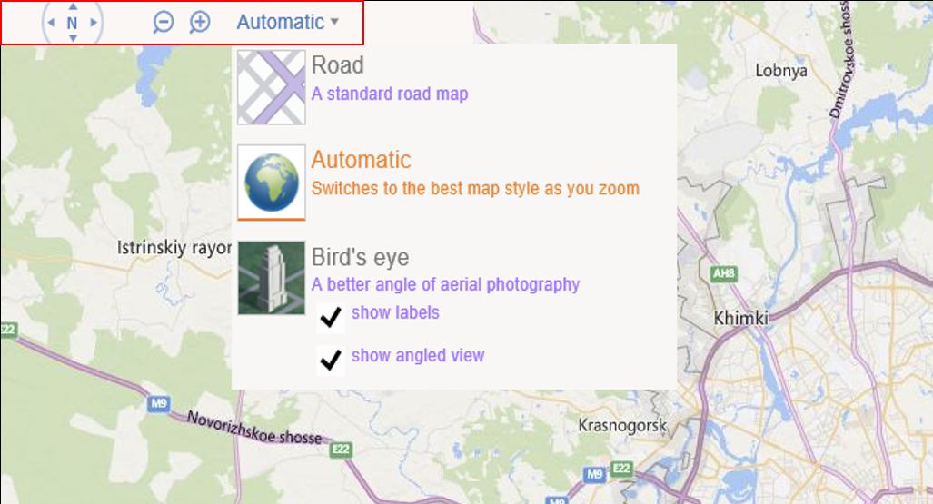 Как добавить карты Bing Maps в Windows-приложение на HTML и JavaScript. Часть 1 - 9