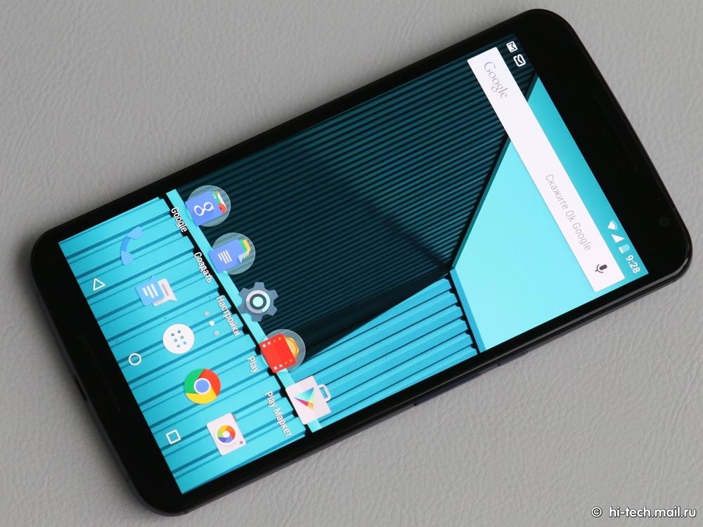 Motorola Nexus 6: один из лучших Android-смартфонов - 1