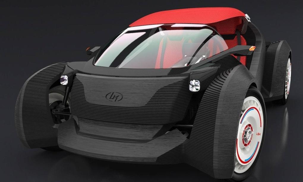 Strati: электромобиль, который можно будет напечатать за сутки - 1