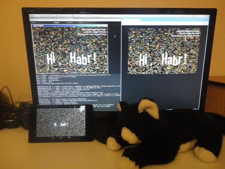 Введение в кросс-платформенную разработку игр на haxe, flow, snow, luxe - 1