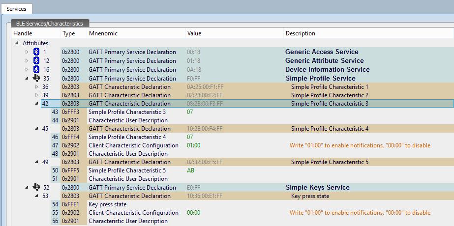 BLE стек от TI. Разработка пользовательских приложений - 2
