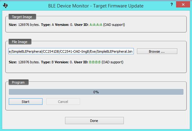 BLE стек от TI. Разработка пользовательских приложений - 5