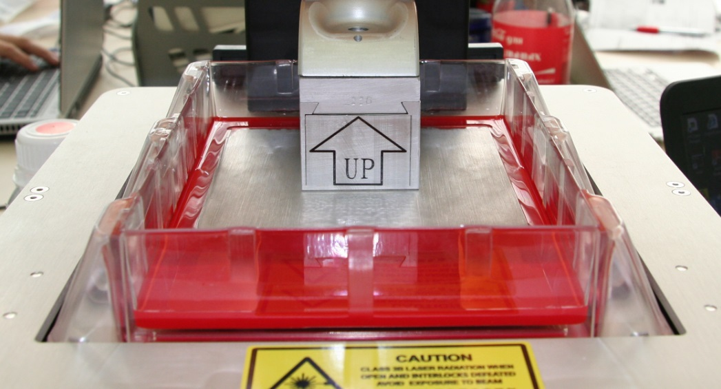 URANUS: первый работающий настольный SLA (стереолитографический) принтер - 12