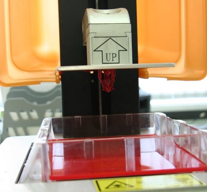 URANUS: первый работающий настольный SLA (стереолитографический) принтер - 16