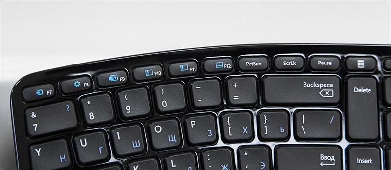 Обзор комплекта Microsoft Sculpt Ergonomic Desktop - 11