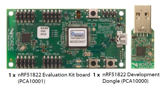 BLE от Nordic Semiconductor. Начало работы со стеком с применением чипа nRF51822 - 2
