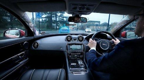 Представлен прозрачный автомобиль от Jaguar Land Rover