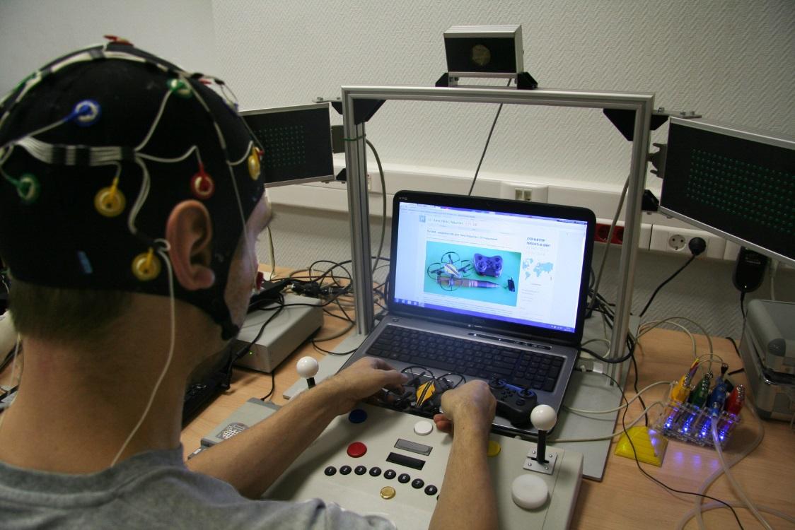 Боевые квадрокоптеры, лаборатория психофизиологии и тренировка мозга - 14