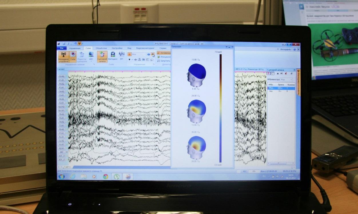 Боевые квадрокоптеры, лаборатория психофизиологии и тренировка мозга - 15
