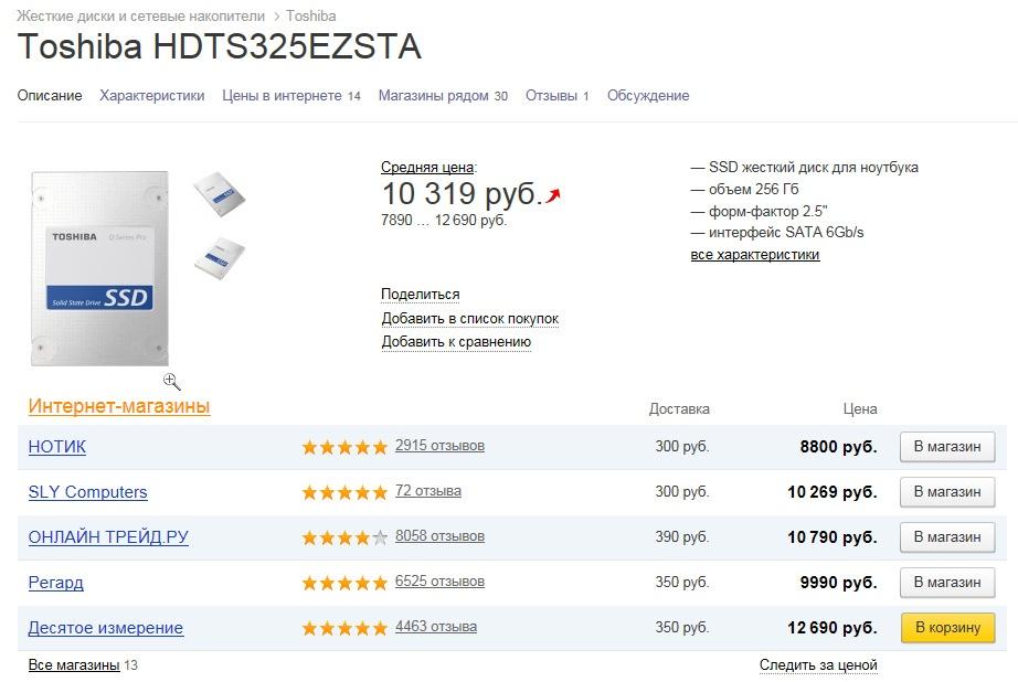 О поиске недорогой замены престарелому SSD - 15
