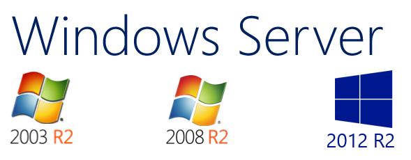 Сравнение версий Windows Server - 1