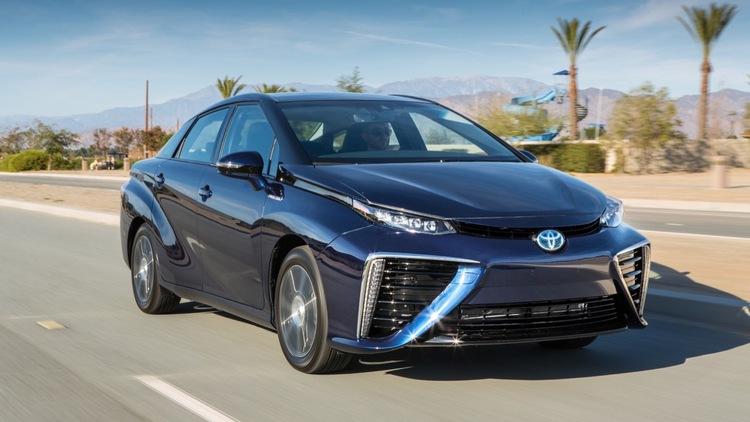 Компания Toyota может поставить водородный двигатель в Lexus - 1