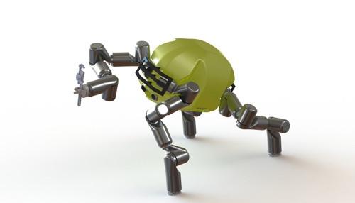 Обезъяноподобный робот от NASA в 2015 году примет участие в конкурсе DARPA - 2