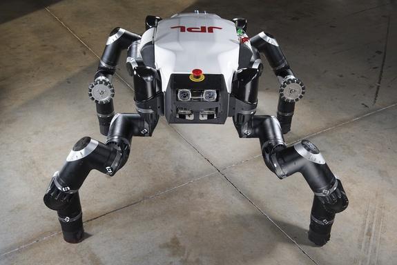 Обезъяноподобный робот от NASA в 2015 году примет участие в конкурсе DARPA - 3