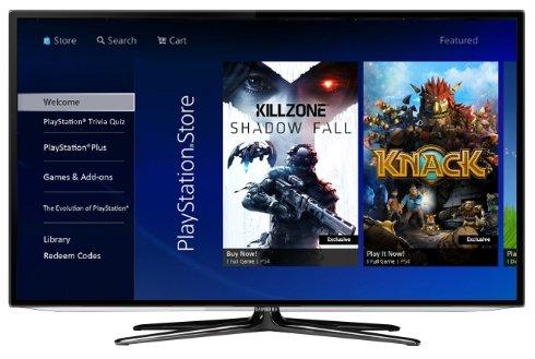 В телевизорах Samsung появятся игры для PlayStation 3