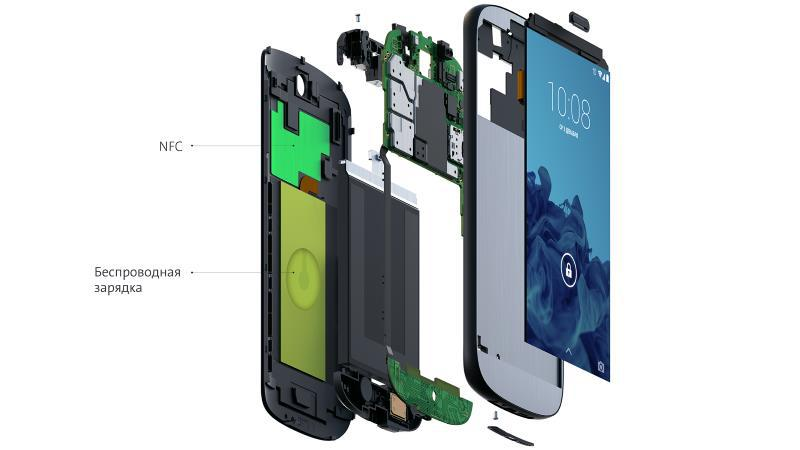 Зарядка и NFC в YotaPhone 2 - 1