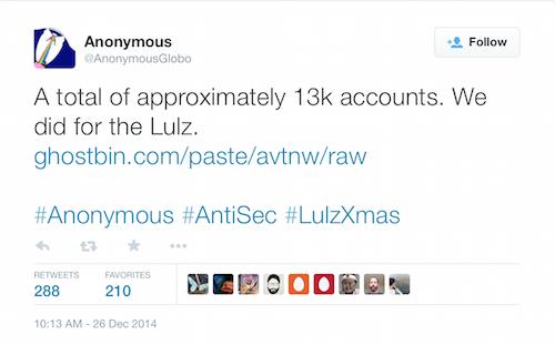 """Anonymous слил большой список паролей, кредитных карт, а также фильм """"The interview"""" от Sony - 3"""