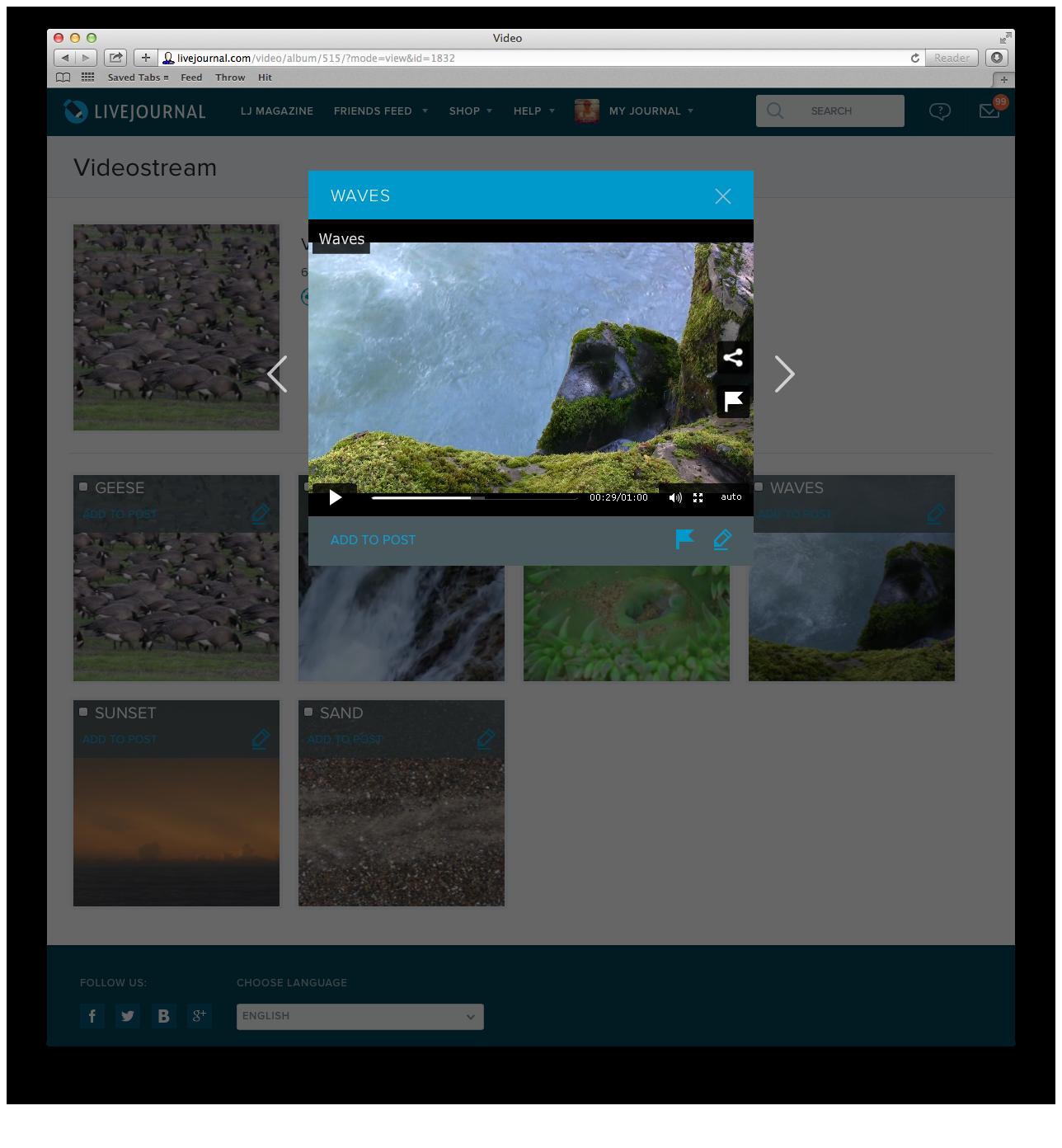 ЖЖ запустил бета-тестирование собственного видеохостинга - 2