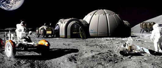 Частная российская компания предлагает построить лунную базу за 10 лет - 1