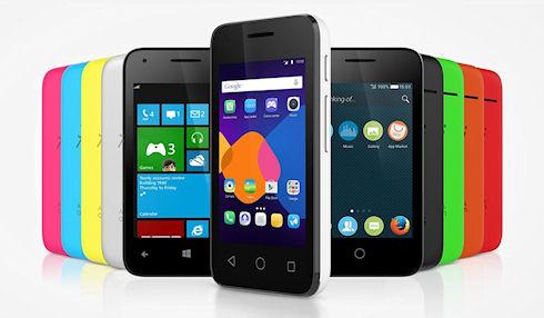 Alcatel представит смартфон с поддержкой 3 х операционных систем