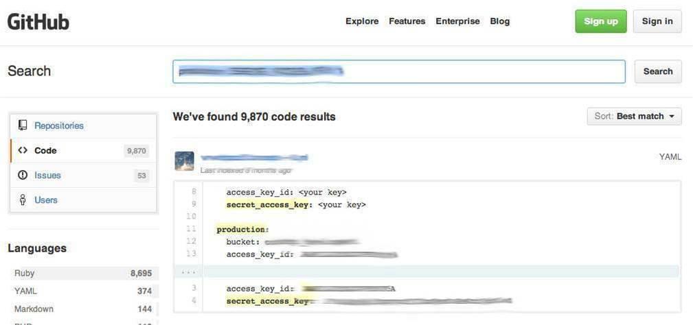 Боты сканируют GitHub в поисках ключей Amazon AWS - 2