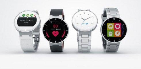 Представлены умные часы с круглым экраном   Alcatel OneTouch Watch