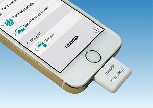 Технология TransferJet доступна пользователям iOS