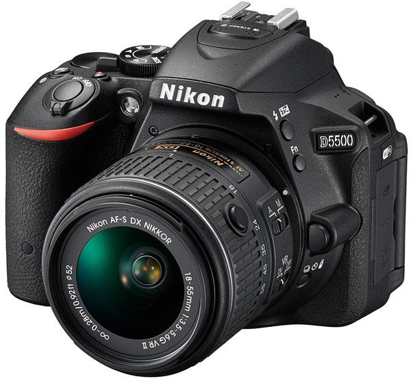 Камера Nikon D5500 оценена производителем в $900
