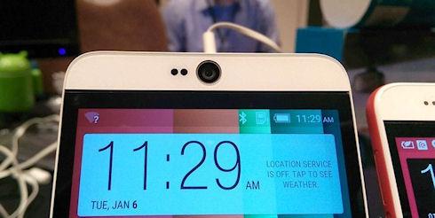 HTC представила 5,5 дюймовый «селфи» смартфон Desire 826
