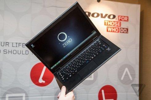 Lenovo показала умный браслет и самые легкие в мире ноутбуки