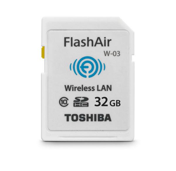 Продажи карт памяти Toshiba FlashAir III начнутся в марте 2015 года