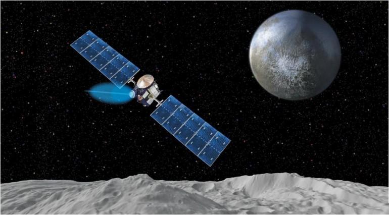 Межпланетный зонд Dawn приближается к орбите карликовой планеты Церера - 1