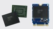 Размеры SSD — 16 х 20 х 1,65 мм, а весит он менее 1 г