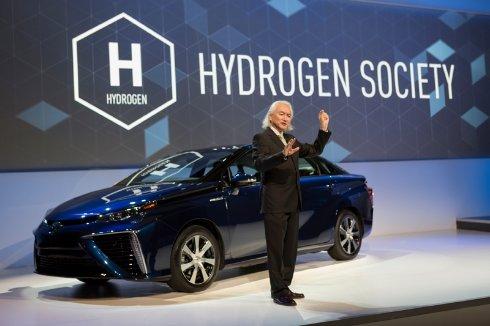 Toyota открывает патенты, касающиеся водородных топливных элементов