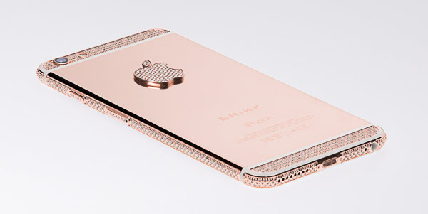 Смартфоны Brikk Lux iPhone 6 Diamond Select и Brikk Lux iPhone 6 Plus Diamond Select доступны в 12 вариантах