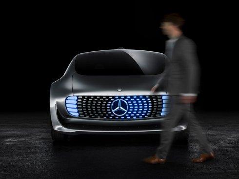 В Mercedes Benz показали автомобиль будущего (ФОТО)